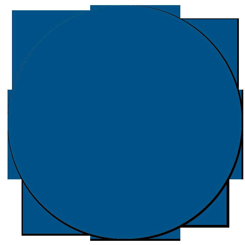 Картинка кружок синего цвета